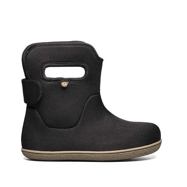 BOGS Youngster Boots schwarz gefüttert Neopren Winterstiefel