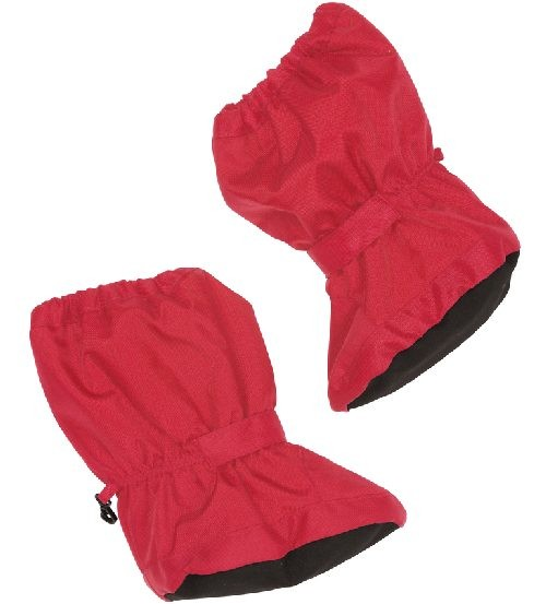 Minymo Nylon Thermo Booties Bing43 teaberry pink - gefütterte Stiefelchen Footies