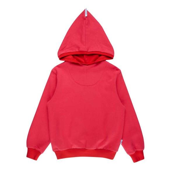 Finkid Huppari Kapuzensweati cherry/red Hoodie