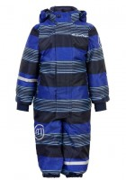 Minymo Kinder Skianzug Placid blue Streifen