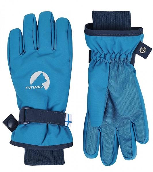 Finkid PIKKURILLI seaport/navy Kinder Handschuhe Fingerhandschuhe