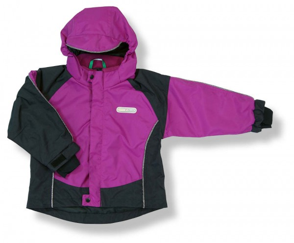 Wilma & Morris Outdoorjacke TYNSET atmungsaktiv, Farbe pink/schwarz
