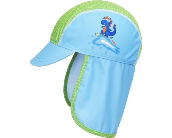 UV-Schutz Sonnenmütze DINO Schildmütze hellblau