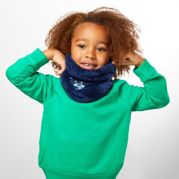 Affenzahn Kinder Schlauchschal Bär Winter Loop Schal