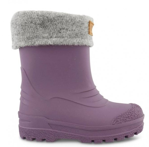 Kavat GIMO purple Winter Thermo Gummistiefel mit Wollfutter