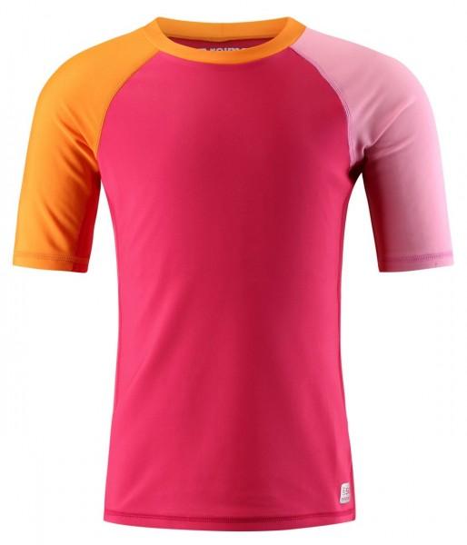 Reima Kinder Schwimmshirt Camiguin berry/pink UV-Schutz 50+
