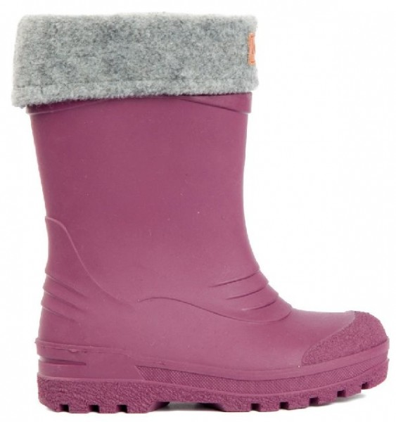 Kavat GIMO lilac Winter Thermo Gummistiefel mit Wollfutter