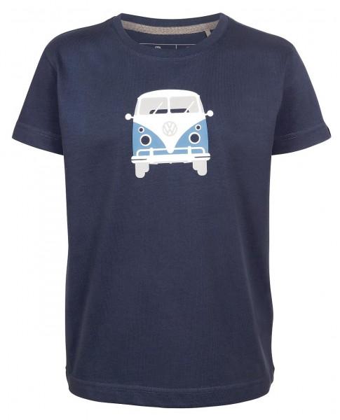 Elkline teeins Kinder T-Shirt darkblue mit VW Bulli Motiv