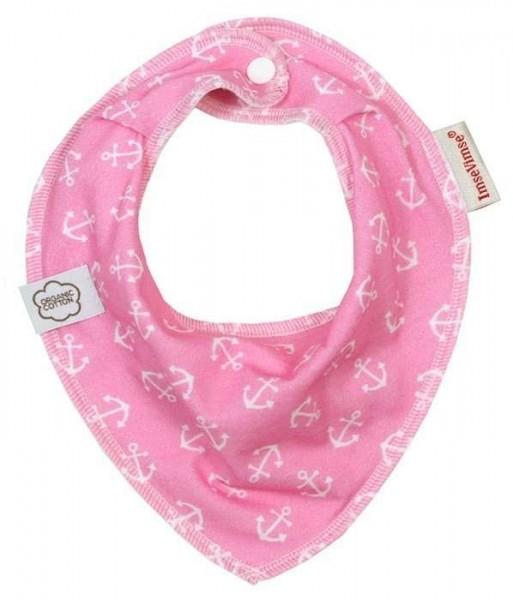 ImseVimse Lätzchen Anker rosa Halstuch