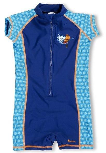 UV-Schutz Overall Maus blau Kinder Sonnenschutzanzug