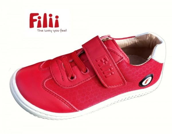 Filii Salimander chili rot Kinder Barfußschuhe