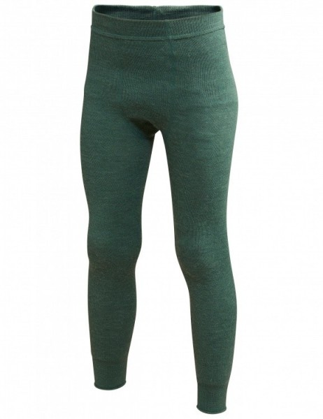 Woolpower Kids lange Unterhose farngrün Leggings Long Johns 200