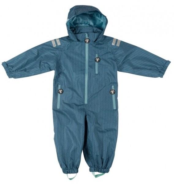 Ducksday Kinder Regenanzug RANGER petrol/blau