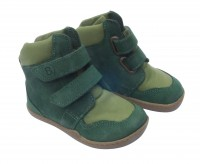 bLifestyle GIBBON grün Bio Winterboots mit Minimalsohle