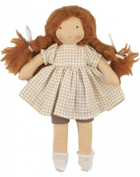 Walkiddy Puppe Anna Bio Stoffpuppe nach Waldorf Art
