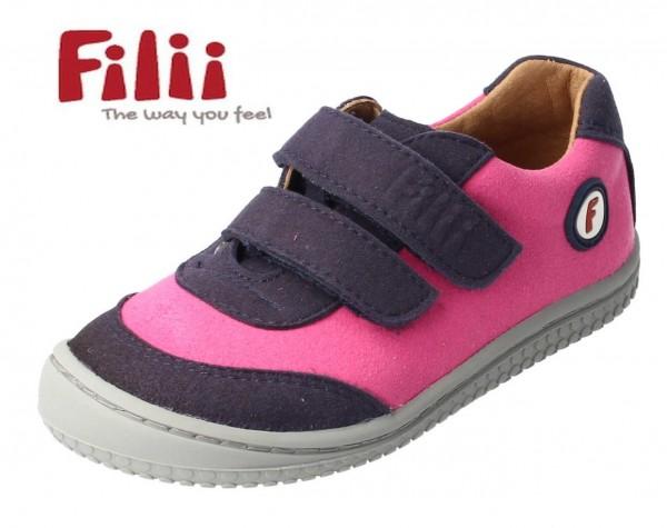 Filii Sneaker AXOLOTL pink/blau vegan Barfußschuhe