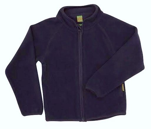 Celavi Kinder Fleecejacke in navy