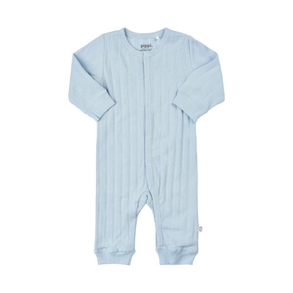 Pippi Baby Overall GOTS hellblau Organic Bio Baumwolle
