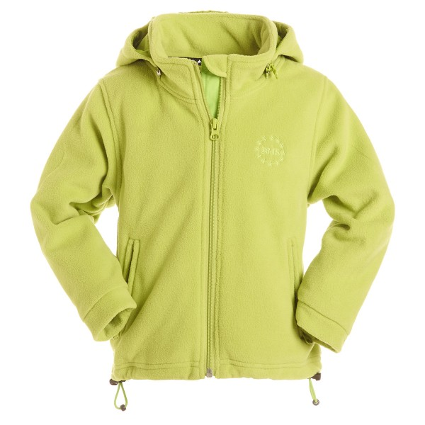 BMS Fleecejacke limette Antarctic-Fleece mit Kapuze