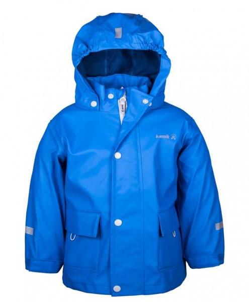 Kamik Kinder Regenjacke Splash strong blue mit Textilfutter