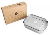 Brotzeit KLICKSTAR Brotdose aus Edelstahl dicht + auslaufsicher