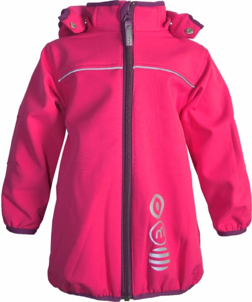 Minymo Softshell-Jacke Winn83 sparkling pink