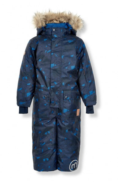 Minymo Schneeanzug Skianzug atmungsaktiv Le75 nautical blue