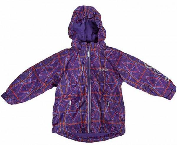 MINYMO Hit03 violett Criss Cross Winterjacke atmungsaktiv Outdoorjacke