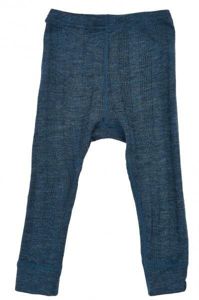 Celavi Baby Leggings Merinowolle jeansblau
