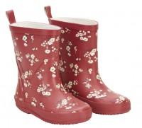 CeLaVi Mädchen Gummistiefel Blüten redwood