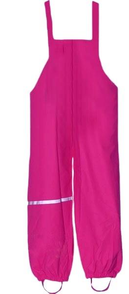Mädchen Regenhose TJIP pink mit Trägern