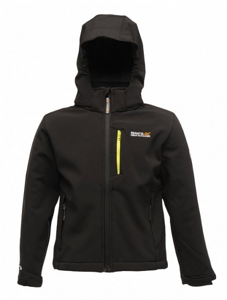 Regatta Kinder Softshelljacke black Airblaze