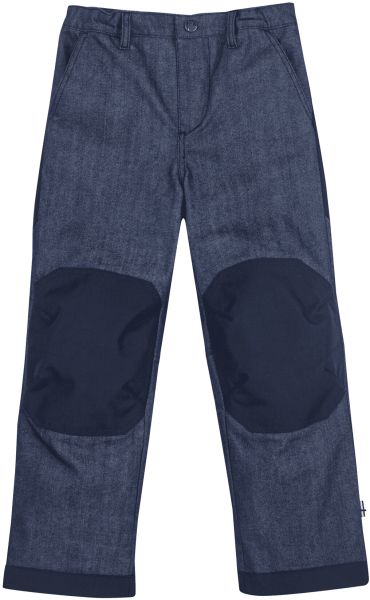 Finkid Kaamos gefütterte Winterhose denim Jeans mit Verstärkungen