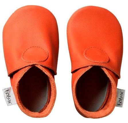 Bobux Krabbelschuhe uni orange