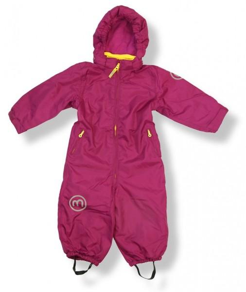 Minymo Kinder Skianzug Td31 fuchsia uni dunkel pink