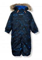 Minymo Schneeanzug Skianzug atmungsaktiv Le77 nautical blue