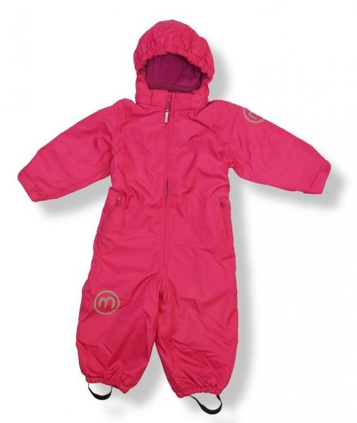 Minymo Kinder Skianzug Td31 uni raspberry pink