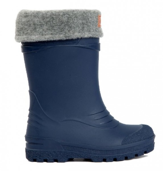 Kavat GIMO blue Winter Thermo Gummistiefel mit Wollfutter