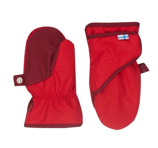 Finkid Lapanen red/cabernet Thermo Handschuhe Fäustlinge wasserfest