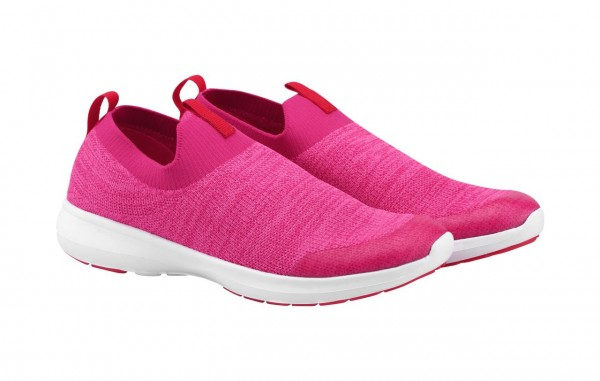 Reima Mädchen Sneaker Bouncing cranberry pink Sommerschuhe