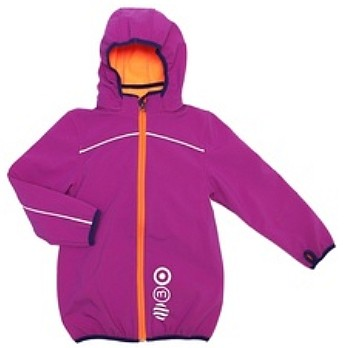 Minymo Softshell-Jacke Raven09 purple