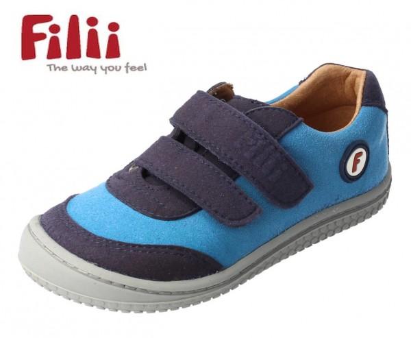 Filii Sneaker AXOLOTL türkis/blau vegan Barfußschuhe