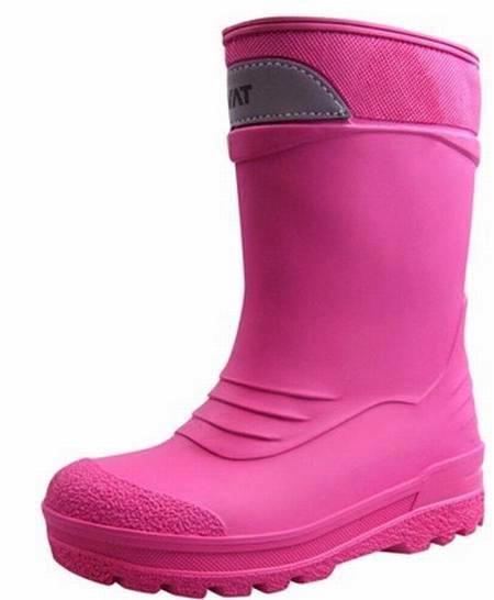 Kavat SLASK cerise pink Winter Thermo Gummistiefel gefüttert