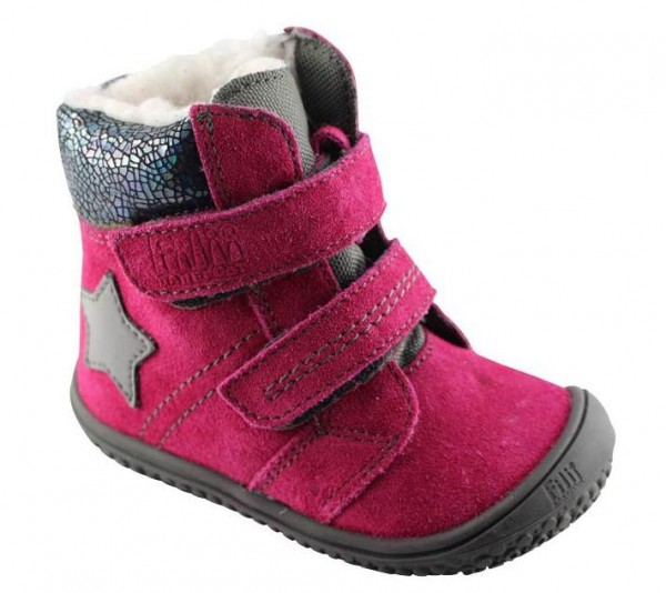 Filii Kinder Winterstiefel Himalaya pink mit Thermofutter