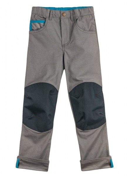 Finkid Kuusi Canvas charcoal verstärkte 5-Pocket Hose