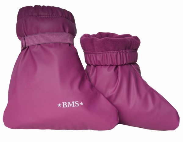BMS Buddelsocken purple mit Fleecefutter