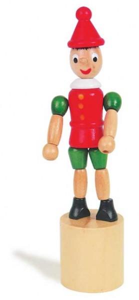 Pinocchio - Drückfigur aus Holz