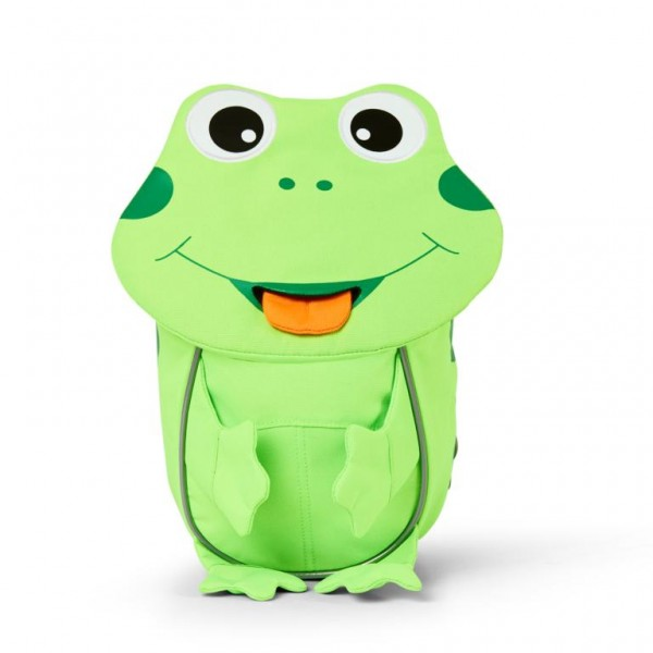 Affenzahn Kleine Freunde Rucksack Frosch apfelgrün