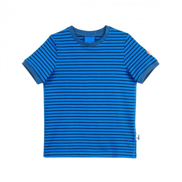 Finkid Renkaat blue/navy T-Shirt Ringelstreifen