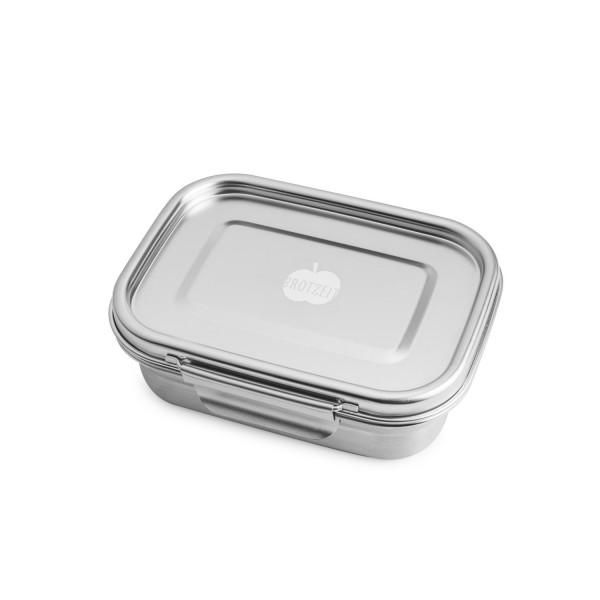 Brotzeit Lunchbox Brotdose BUDDY Edelstahl dicht + auslaufsicher